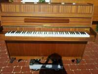 *THE LITTLE PIANO STORE * CAN DELIVER * HUPFELD MODERN UPRIGHT PIANO