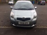 Toyota Yaris TR 08 - Genuine Millage of 31400 - ONLY one previous owner - Urgent Sale