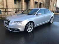 Audi A6 SLine - 2.0 TDi, AUTOMATIC, MOT APRIL 2019, SAT NAV, NEW GEARBOX £1600 *NATIONWIDE DELIVERY*