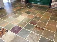 floor Care Suffolk Slate Floor restoration