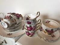 Royal Imperial fine China tea set