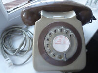 VINTAGE BT/GPO DIAL TELEPHONE (1973)