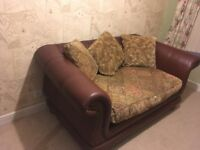 Two seater sofa x2