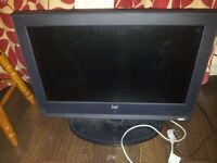 FAULTY DUAL 26'' LCD TV FOR SPARES OR REPAIRS