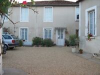 Two beautifully renovated houses in private courtyard in the Vienne, north Poitou-Charentes, France