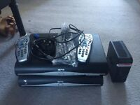1 or 2 Sky+ HD boxes plus Wifi hub