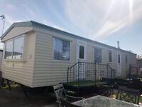 2 bedroom static caravan for sale, site fees paid until 2020