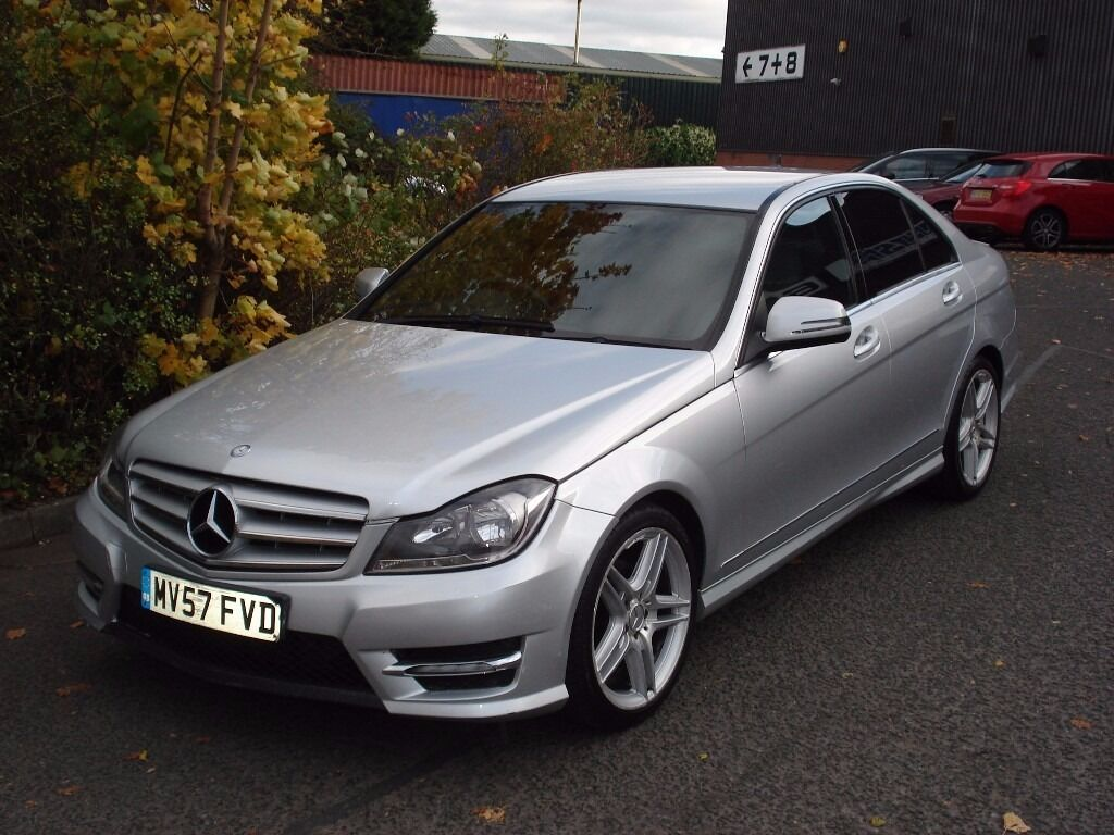 2007 57 reg mercedes c220 cdi sport amg facelift rear manual px possible in yardley west. Black Bedroom Furniture Sets. Home Design Ideas