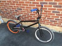 2 Mongoose BMX bicycles + helmets, lights and lock