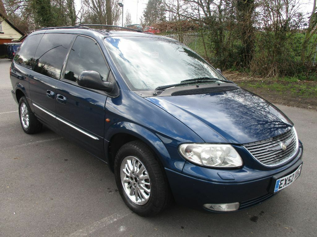 2002 52 Chrysler Grand Voyager 2 5 Crd Limited 7 Seater