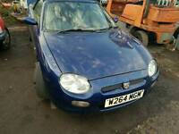 Mgf for spares