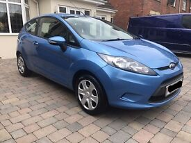 Ford Fiesta Blue 2009 1.2cc Petrol *EXCELLENT CONDITION**1 LADY OWNER**MOT MARCH 2018*