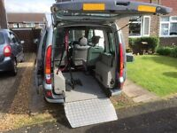 Wheelchair Accessible Renault Kangoo 1.6 Automatic