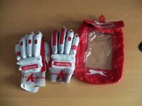 Slazenger Elite Panther Cricket Batting Gloves - Mens