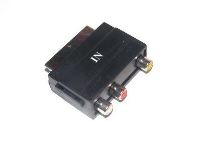 Adaptador RCA a Euroconector SCART nuevo