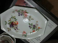 Serving dish made by Johnson brothers in England