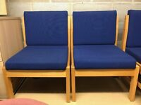 Reception/Visitor Chair, Good Condition. 3 In Stock.