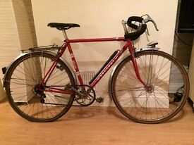 Red Peugeot Racing Touring Bike Bicycle 1980s Vintage Retro