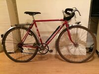 Red Peugeot Racing Touring Bike Bicycle 1980s Vintage Retro