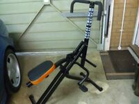 Total Crunch Exercise Machine only used a couple of times