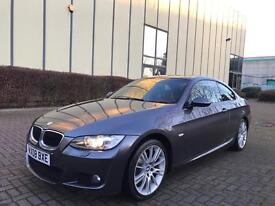 2008 BMW 320 D M SPORT AUTO, TAN LEATHER, XENONS