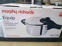 new Morphy Richards Pressure cooker