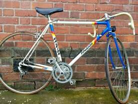 "Classic 80's Raleigh Race Bike Original Untouched and Perfect Condition - 18"" frame"