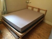 Ikea double bed for sale!