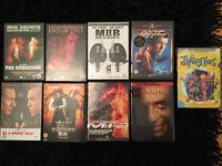 Dvd movie films £1 each kids action 007 Tweenies men in black 2 Mission Impossible 2 hannibal