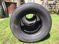 Various Used Tyres, with good thread left - Open to Offers
