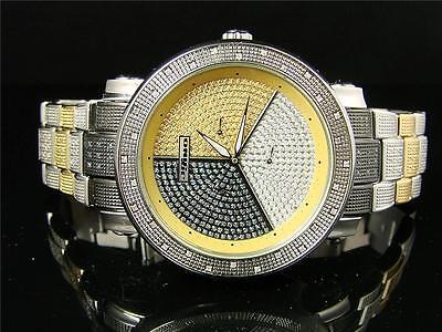 Jojino / Jojo / Joe Rodeo Diamant Ehering Dreifarbig Uhr .89 IJ-1022 (Jojino Uhren)