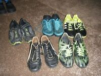 4 pairs of Boys Trainers - various sizes