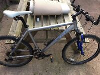 Carrera Mountain Bike. Frame in very good condition.