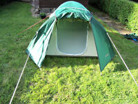French Built Marechal Quality Performance Dome Tent 2-3 Person