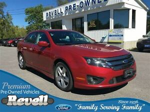 2011 Ford Fusion Sport AWD... Moonroof, Leather, Alloys, Spoiler