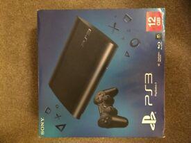 PS3 Super Slim 12 GB + 250GB Hard Drive