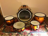Pearl export drum kit. Excellent condition