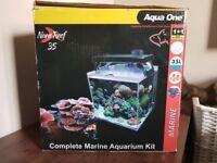 MUST GO THIS WEEK Aqua One Nano 35 Reef Complete