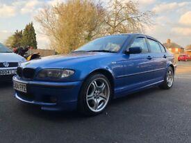 BMW 318i Estoril Blue 11 months MOT