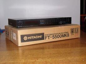 HITACHI AM/FM Stereo Tuner