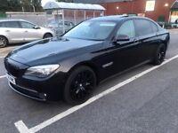BMW 7 series in Black