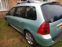 Peugeot 307SW - 7 seater