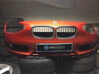 BMW 1 series f20 front bumper se model with kidney grilles and foglights