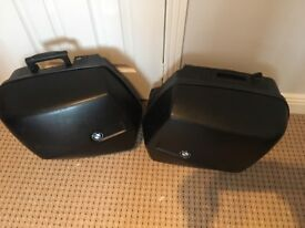 BMW R1150r Panniers and Tank Bag