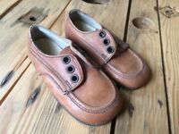 Vintage Startrite Leather Boys Shoes