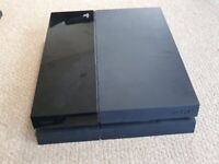 PICKUP ONLY HOVE Playstation 4 PS4 console with controller and all cables, 500GB black