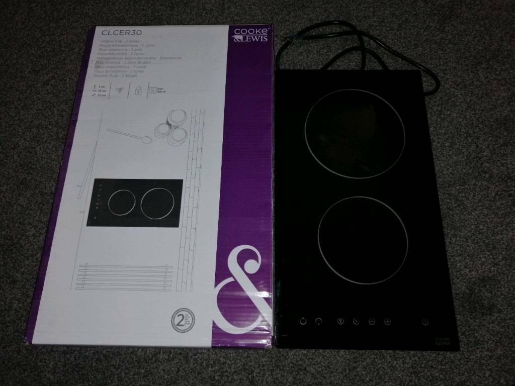 Cooke And Lewis 2 Zone Ceramic Hob Clcer30 Rrp 64 In Clifton Nottinghamshire Gumtree