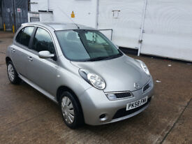 AUTOMATIC NISSAN MICRA 2008 N TEC FULLY LOADED. ONLY 52 K MILES. FULL HISTORY. EXCELLENT DRIVE