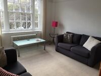 lovely 3 double bedroom flat with living room, bathroom separate loo and balcony