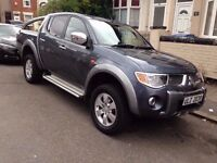 MITSUBISHI L200 ANIMAL 4X4 GREY PRIVATE PLATE